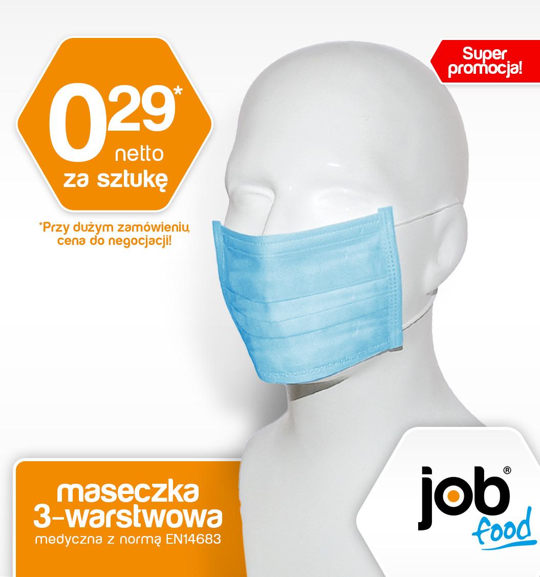 maseczka jednorazowa jobfood