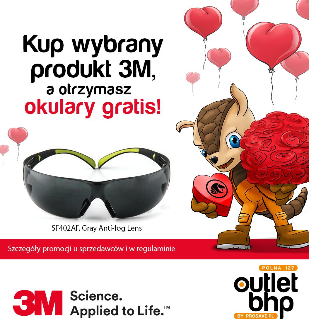 Walentynki - kup wybrany produkt marki 3M, a otrzymasz okulary gratis