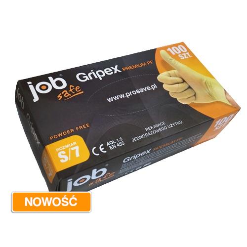 Rękawice jednorazowe JobSafe Gripex Premium