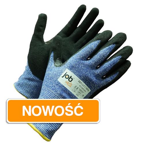 Rękawice antyprzecięciowe JobSafe Anti-cut C MFN