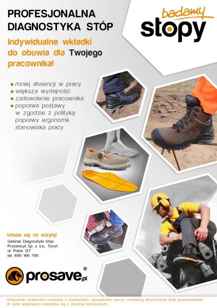 wkładki korekcyjne do butów roboczych
